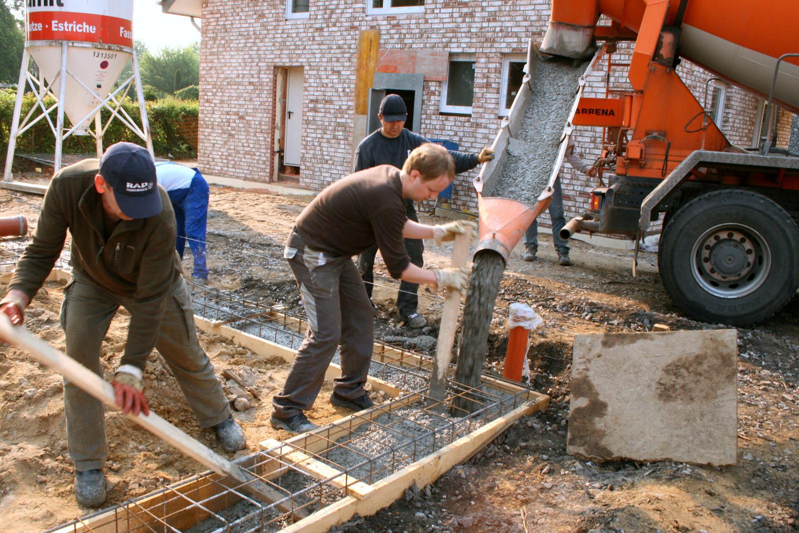 Hausbau | Erdarbeiten | Bild 9