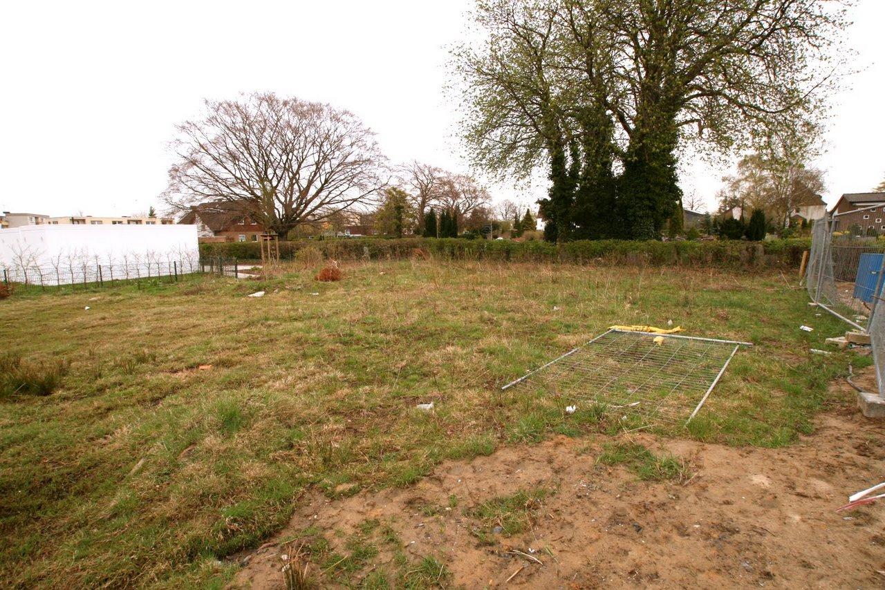 Das Grundstück im Januar 2011