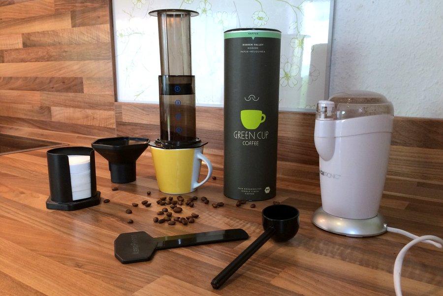 Kaffeezubereitung mit der AeroPress