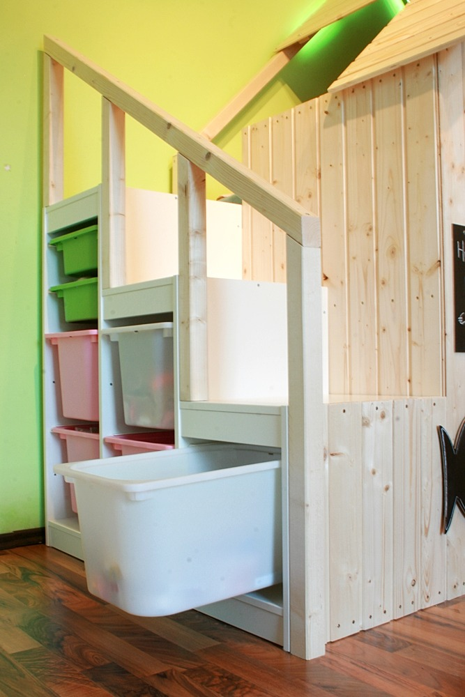 Kinderhochbett ikea  DIY-Playhouse For Our Children – Ländchenlust