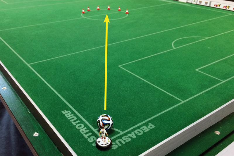 Practicing Subbuteo: Medium No.7