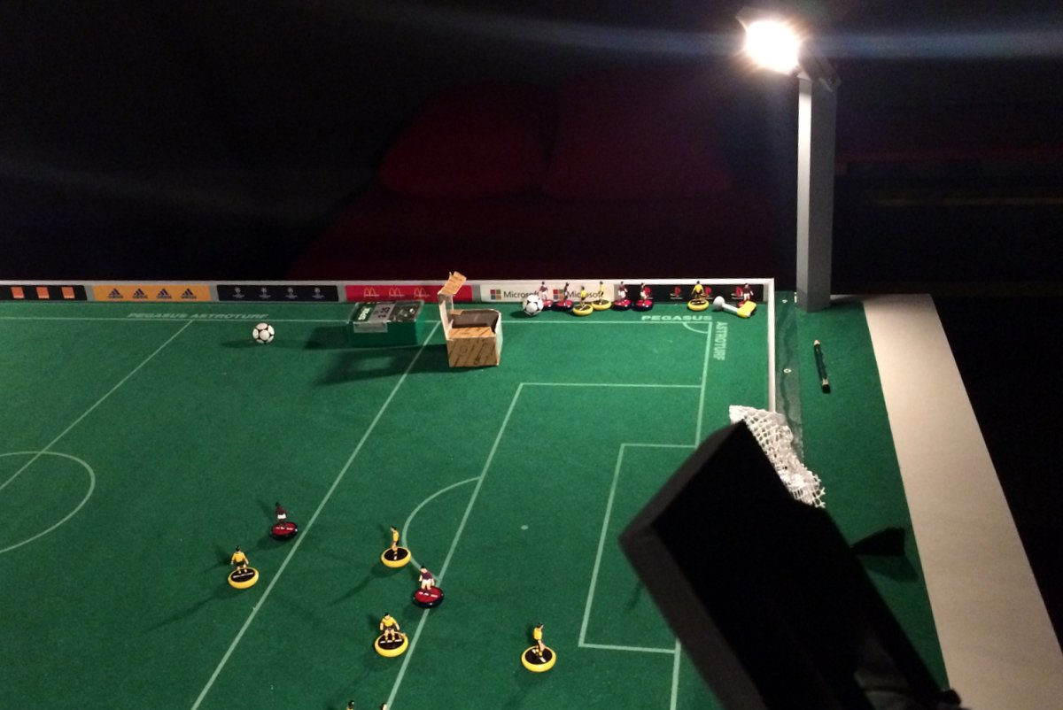 Subbuteo: Tutorial for creating a set of floodlights