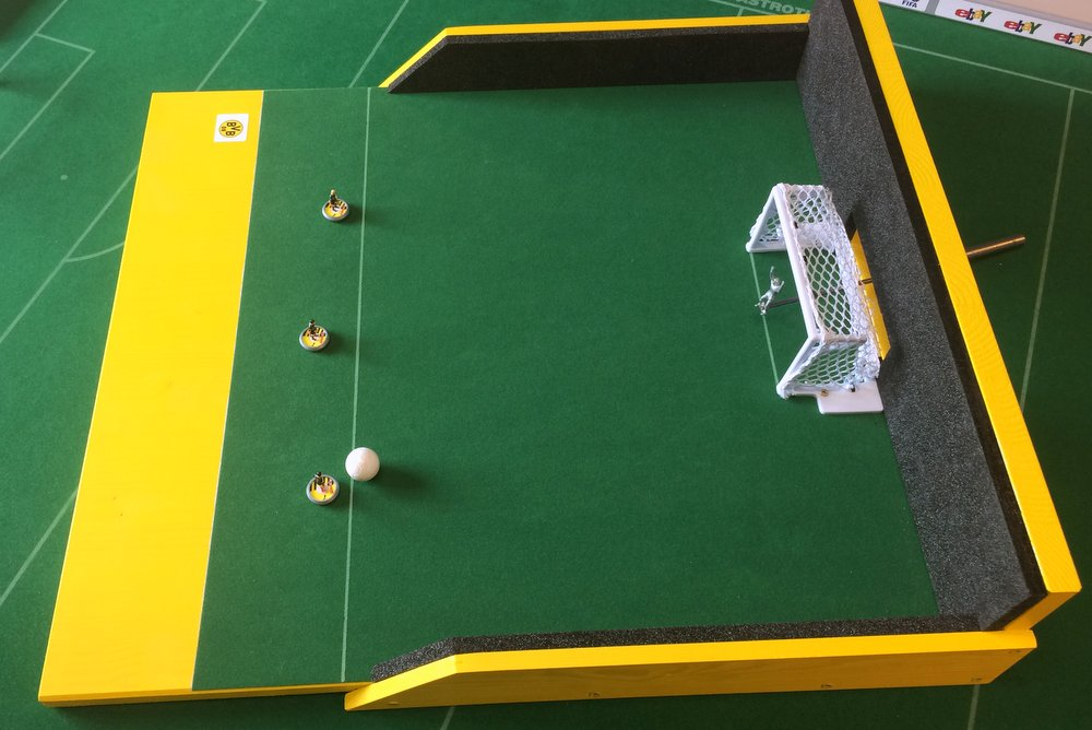 DIY Subbuteo shooting arena 4