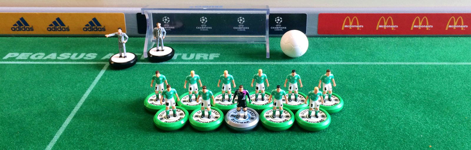Subbuteo table soccer l ndchenlust - Who invented table football ...